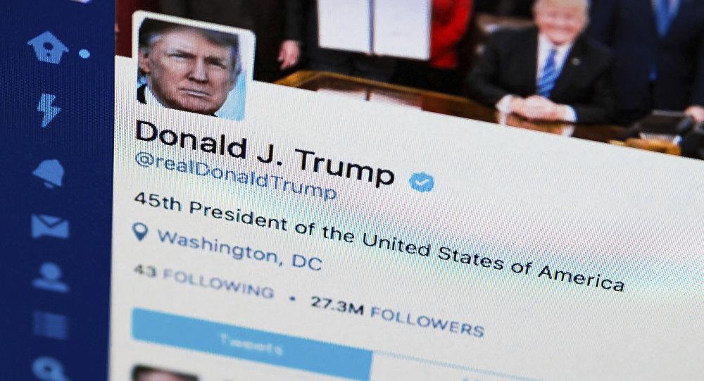 La page Twitter de Donald Trump