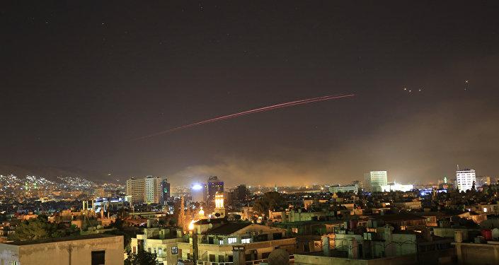 Washington et ses alliés ont frappé la Syrie,14 avril 2018