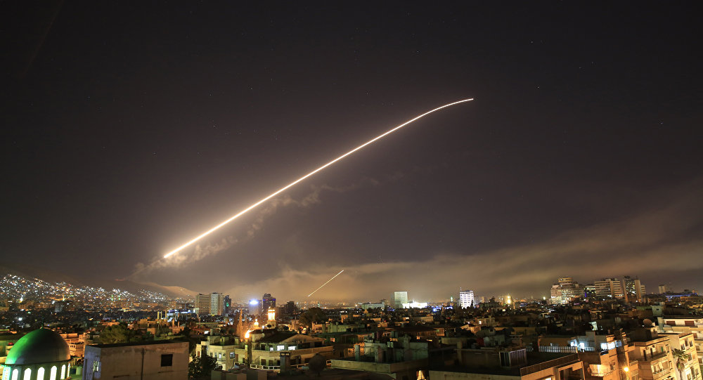Frappe contre Damas
