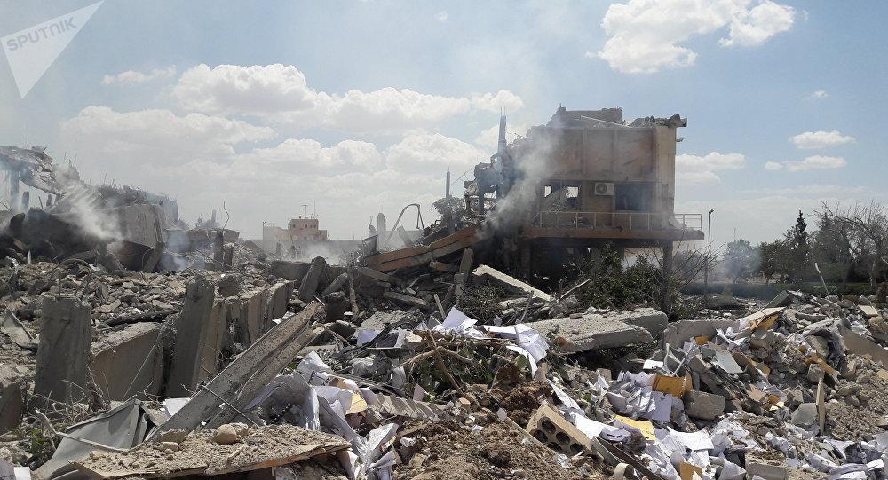 Après les frappes, le refus de l'escalade — Syrie
