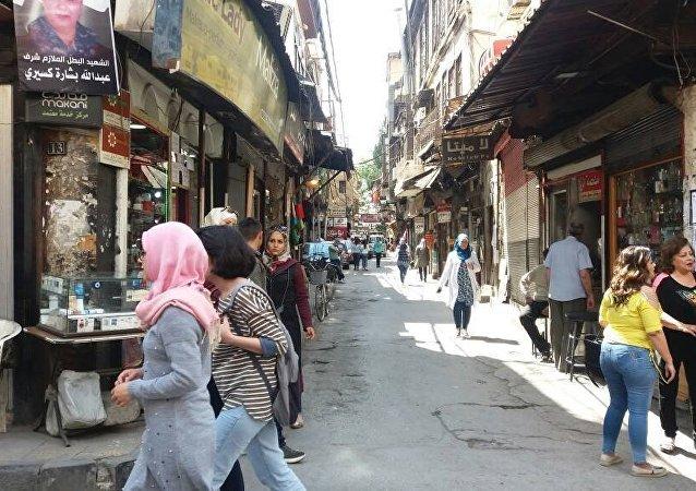 Un quartier de Damas