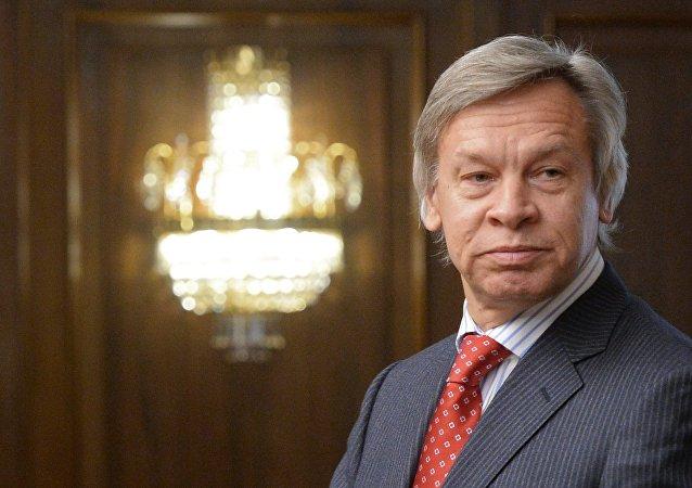 Alexeï Pouchkov, sénateur russe