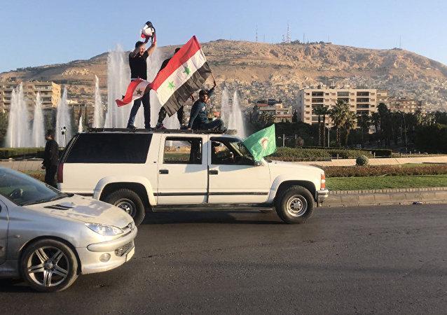 Damas au lendemain des frappes
