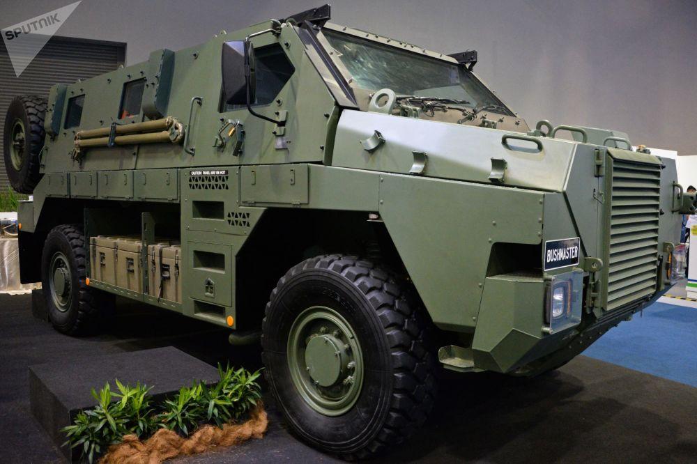 Le salon international d'armements Defence Services Asia en Malaisie