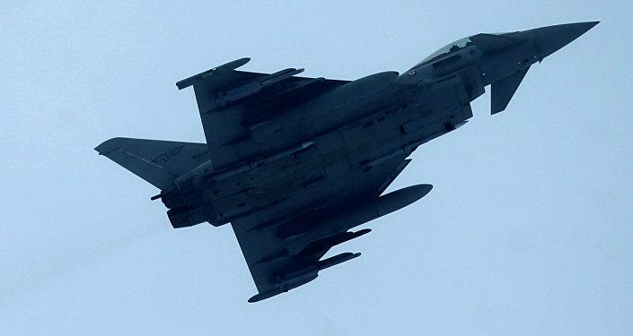 Eurofighter Typhoon, image d'illustration