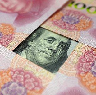 Yuans et dollar
