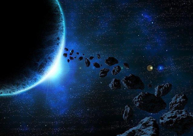 Des astéroïdes