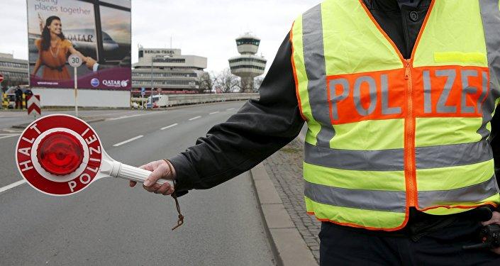 Police à Berlin