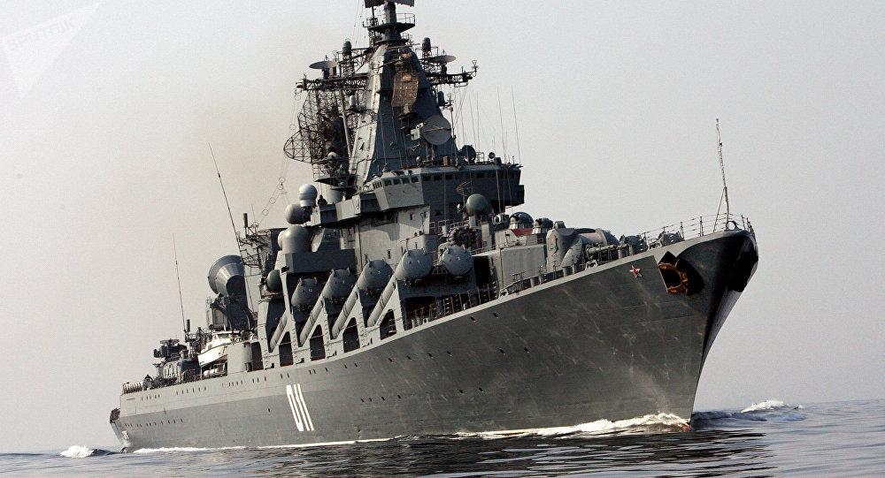 Le croiseur lance-missile russe Variag