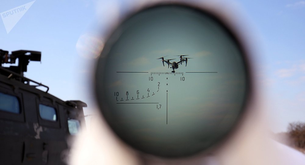 Une arme contre les drones