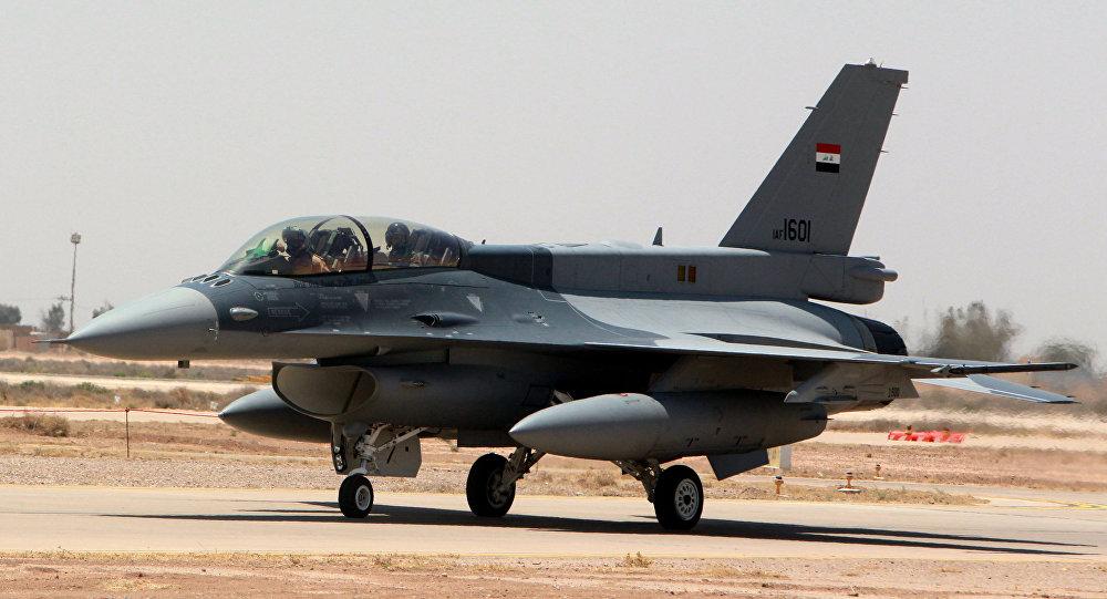 Un F-16 irakien
