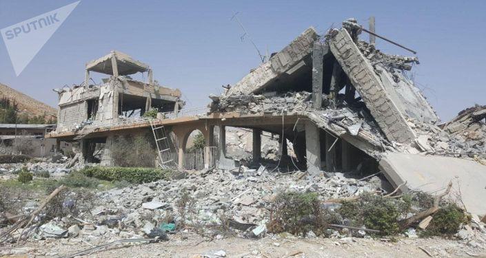 Destructions en Syrie