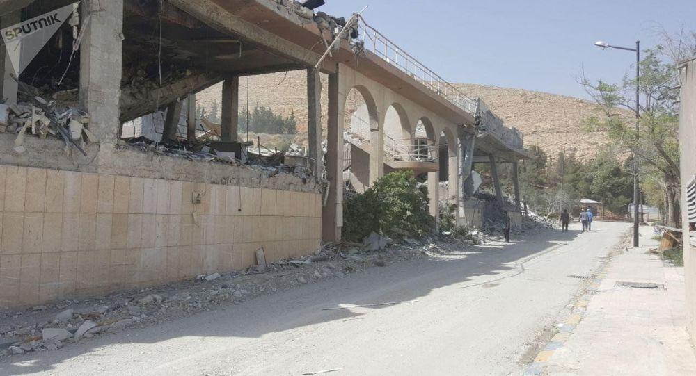 Le Centre d'études et de recherches détruit à Damas par les frappes américaines