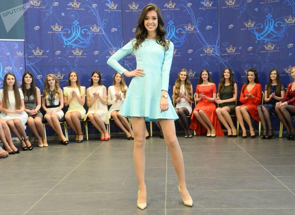 Les finalistes du concours de beauté Miss Biélorussie 2018