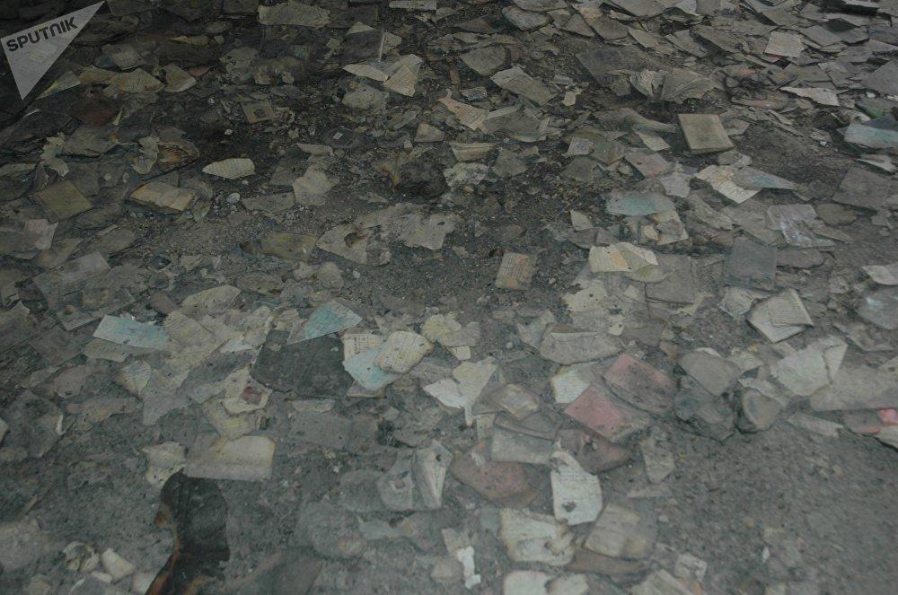 Des membres de Jaych al-Islam ont brûlé les documents des détenus d