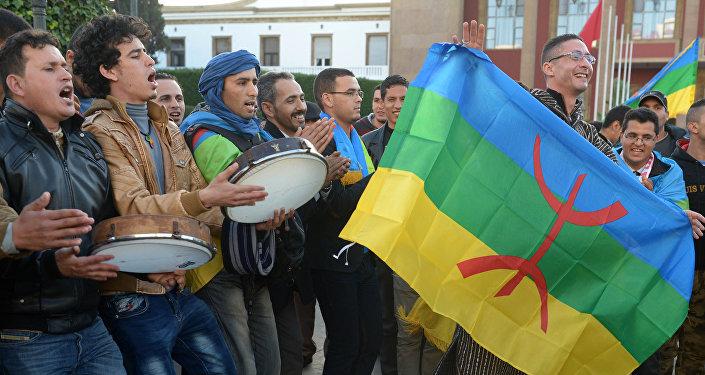 Le drapeau amazigh