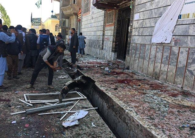 Attentat devant un centre électoral à Kaboul
