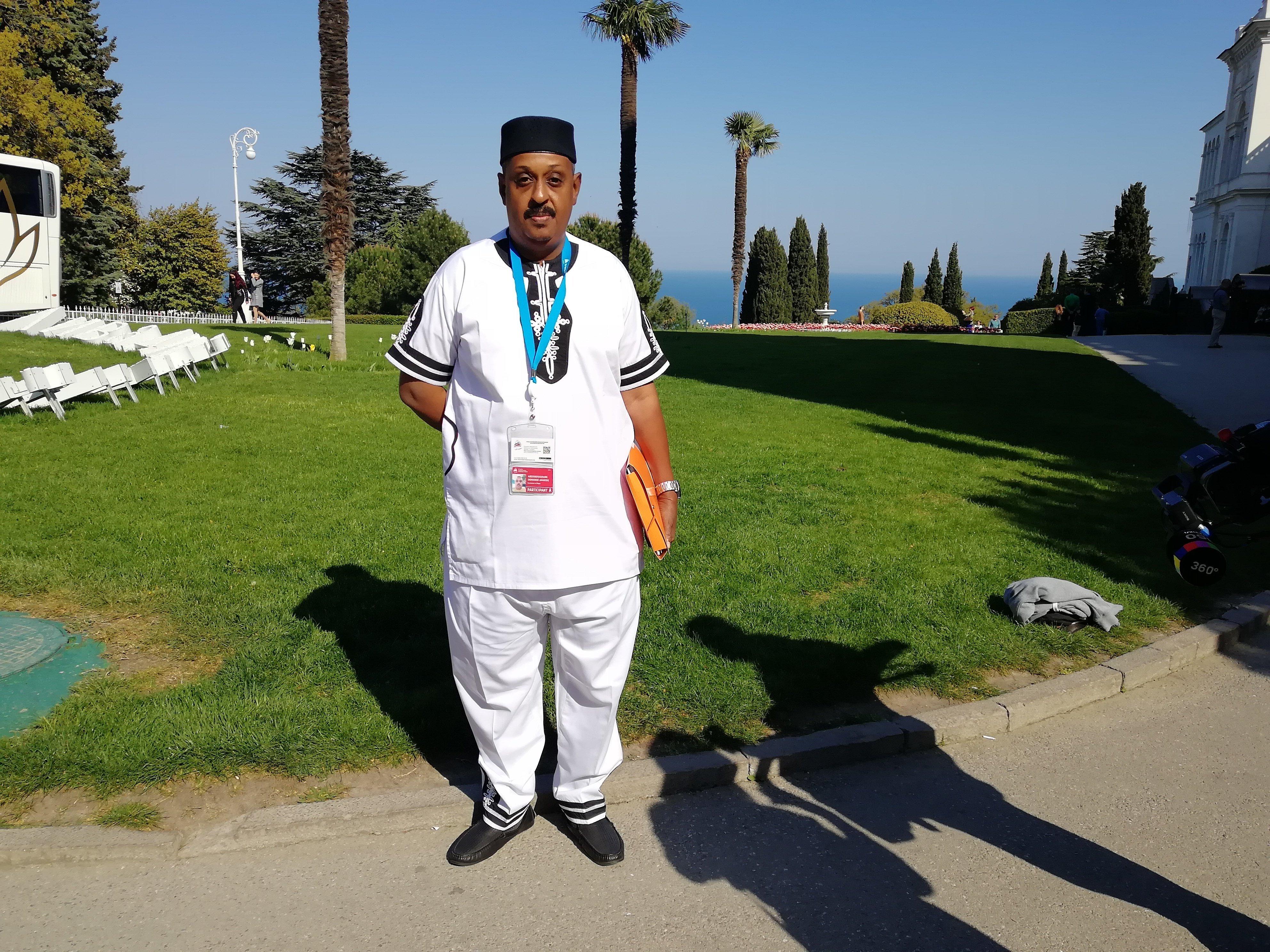 Oumarou Abdourahamane, député de l'assemblée nationale du Niger