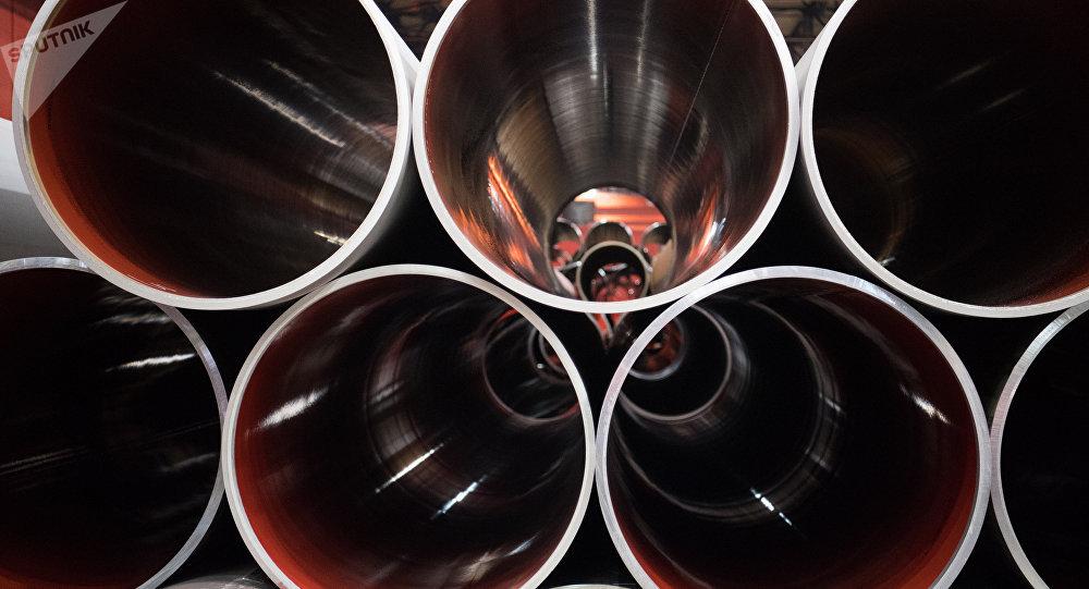 Une usine de tuyaux