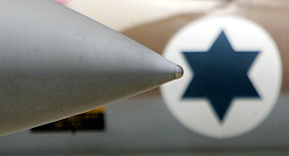 Un F-15 israélien, détails