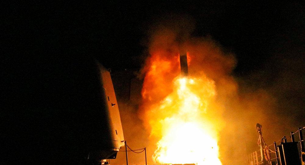 Un missile Tomahawk, le 14 avril 2018