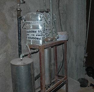 Un laboratoire d'armes chimiques à Douma