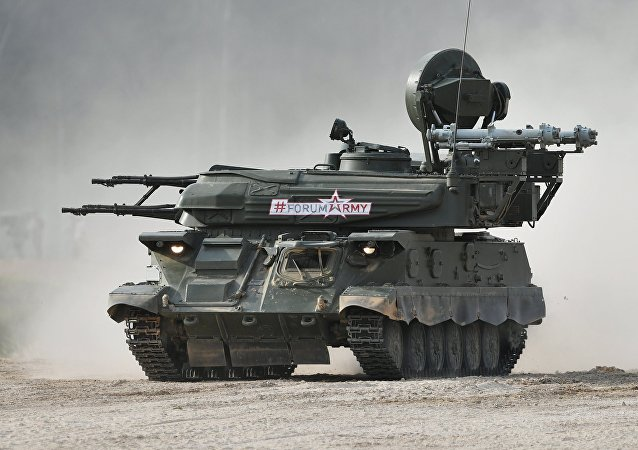 Le véhicule d'artillerie sol-air Chilka