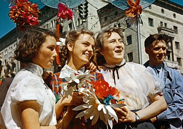Comment était célébrée la Journée internationale des travailleurs en URSS