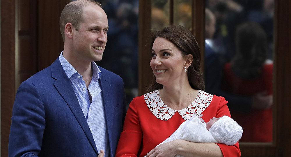 Le prince William et son épouse