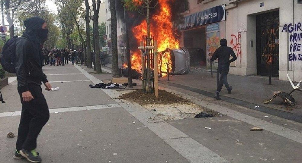 Manif du 1er mai à Paris