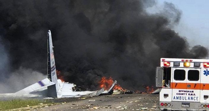 Un avion militaire US C-130 s'écrase dans l'État de Géorgie, des victimes