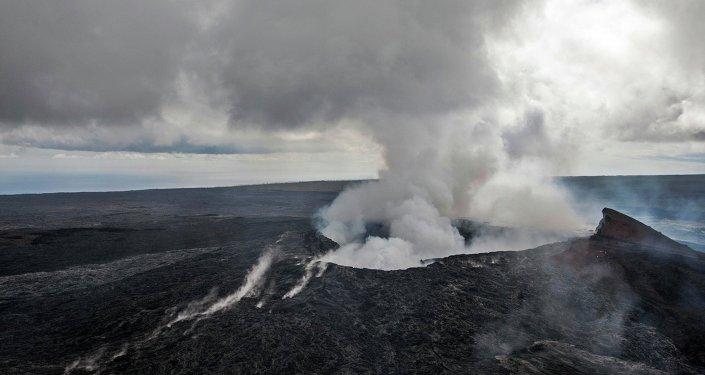Le volcan Kilauea à Hawaï