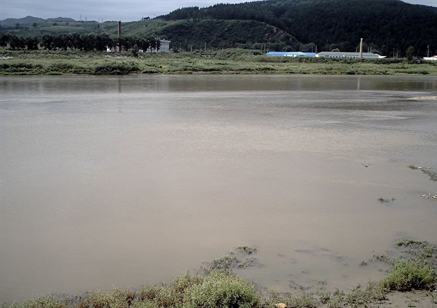 Le fleuve Tumen
