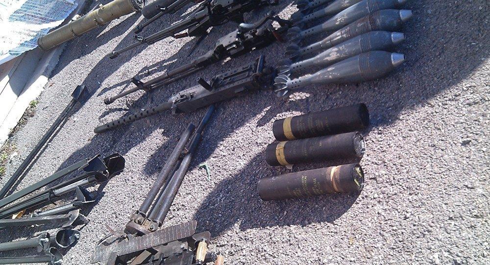 Des usines de munitions découvertes à Douma
