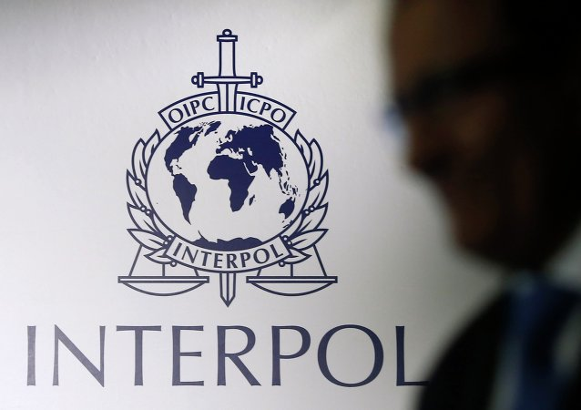 Logotype d'Interpol