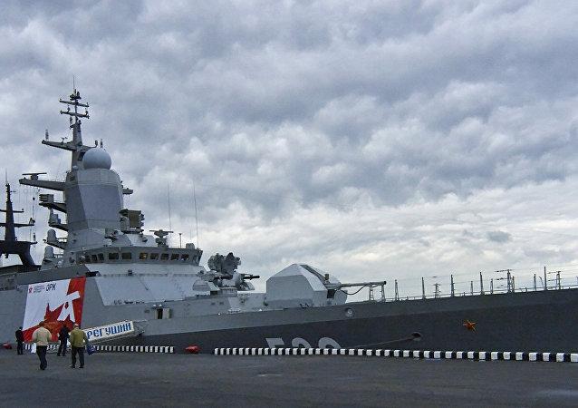 La nouvelle corvette Ouragan du projet Karakurt bientôt en service dans la Marine russe