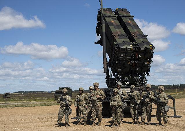 Des soldats américains de l'Otan