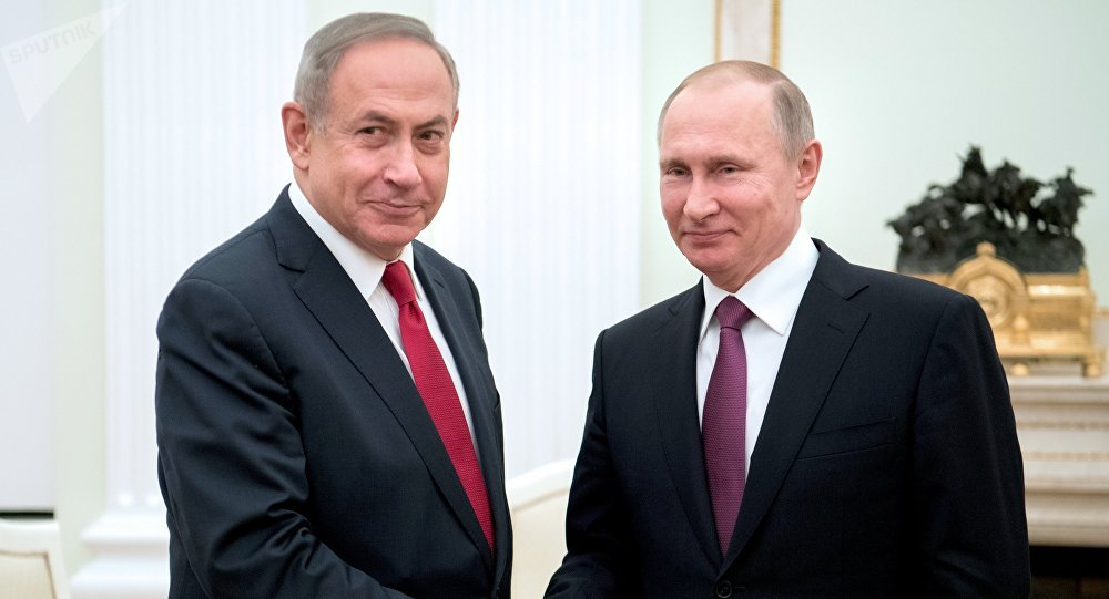 Rencontre Poutine-Netanyahu