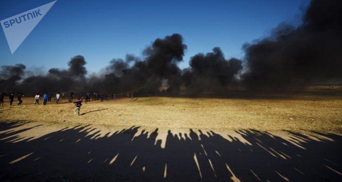 Des dizaines de Palestiniens blessés pas l'armée israélienne à Gaza (image d'illustration)