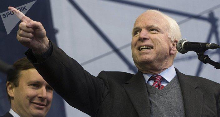 John McCain. Photo d'archive