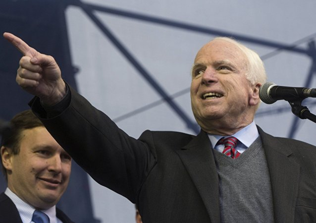 John McCain. Photo d'archive