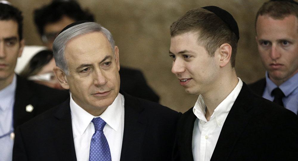 Benjamin Netanyahu et Yair Netanyahu