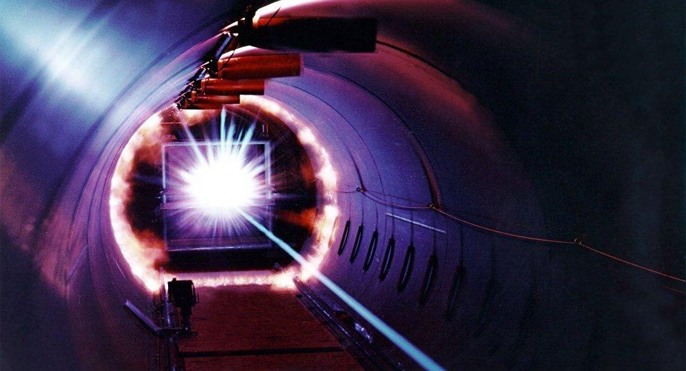 Un laser. Image d'illustration