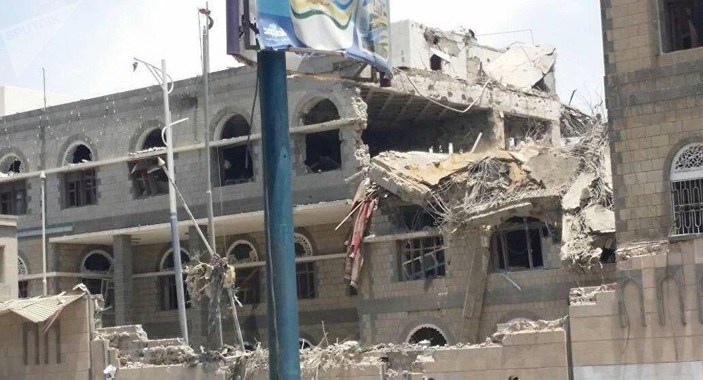 raid de Riyad sur des bureaux de la présidence au Yémen