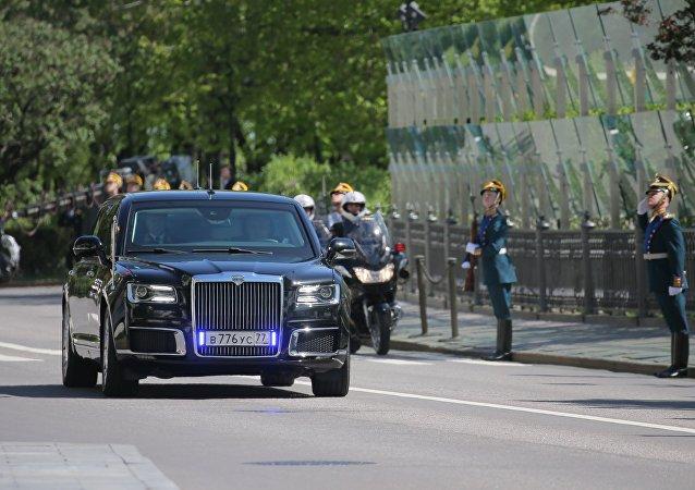 Limousine de Vladimir Poutine