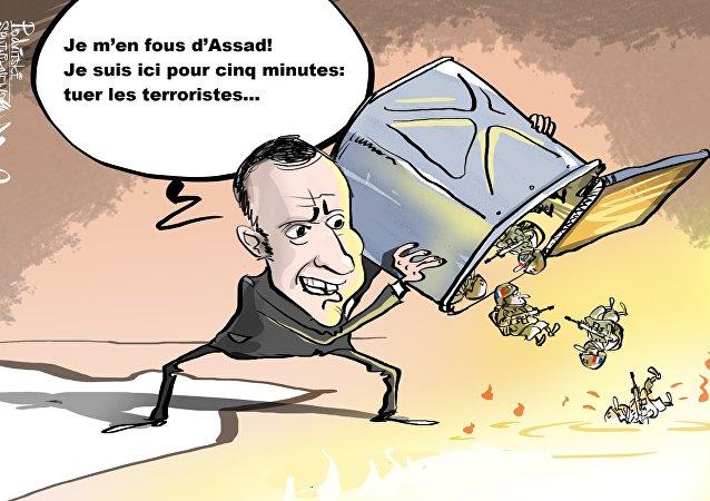 Les objectifs de Paris en Syrie