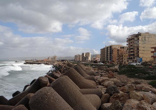La ville libyenne de Derna