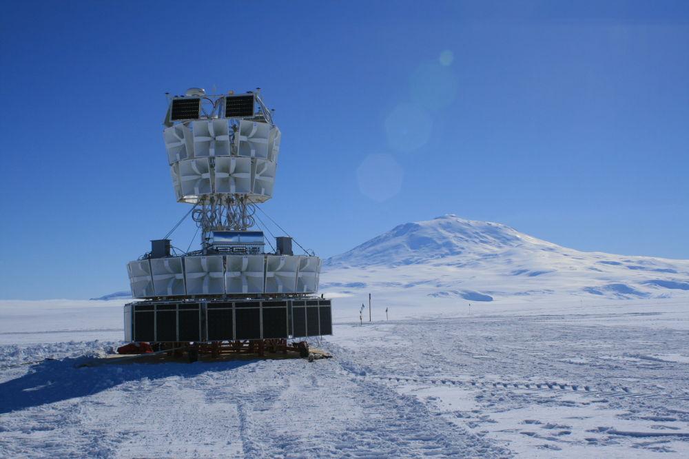 un bloc d'antennes radio ANITA