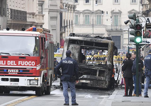 Un bus explose en plein service dans le centre de Rome
