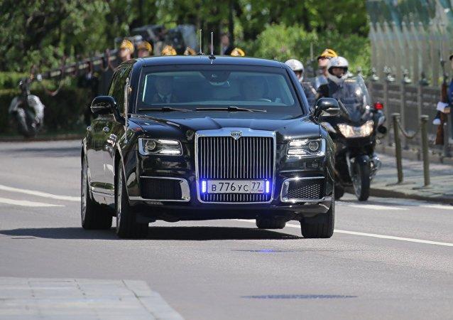Aurus de Vladimir Poutine